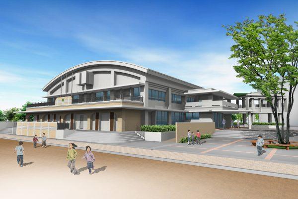 C-07 石嶺小学校体育館 2021年